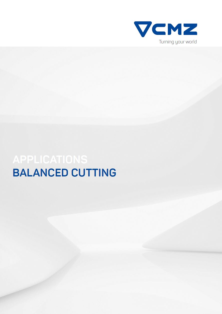 balance cutting application CNC lathe