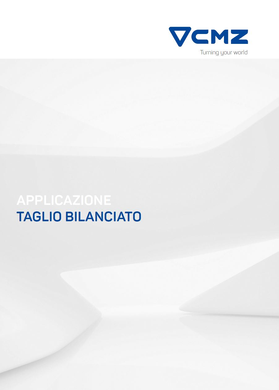 TAGLIO BILANCIATO TORNIO CNC