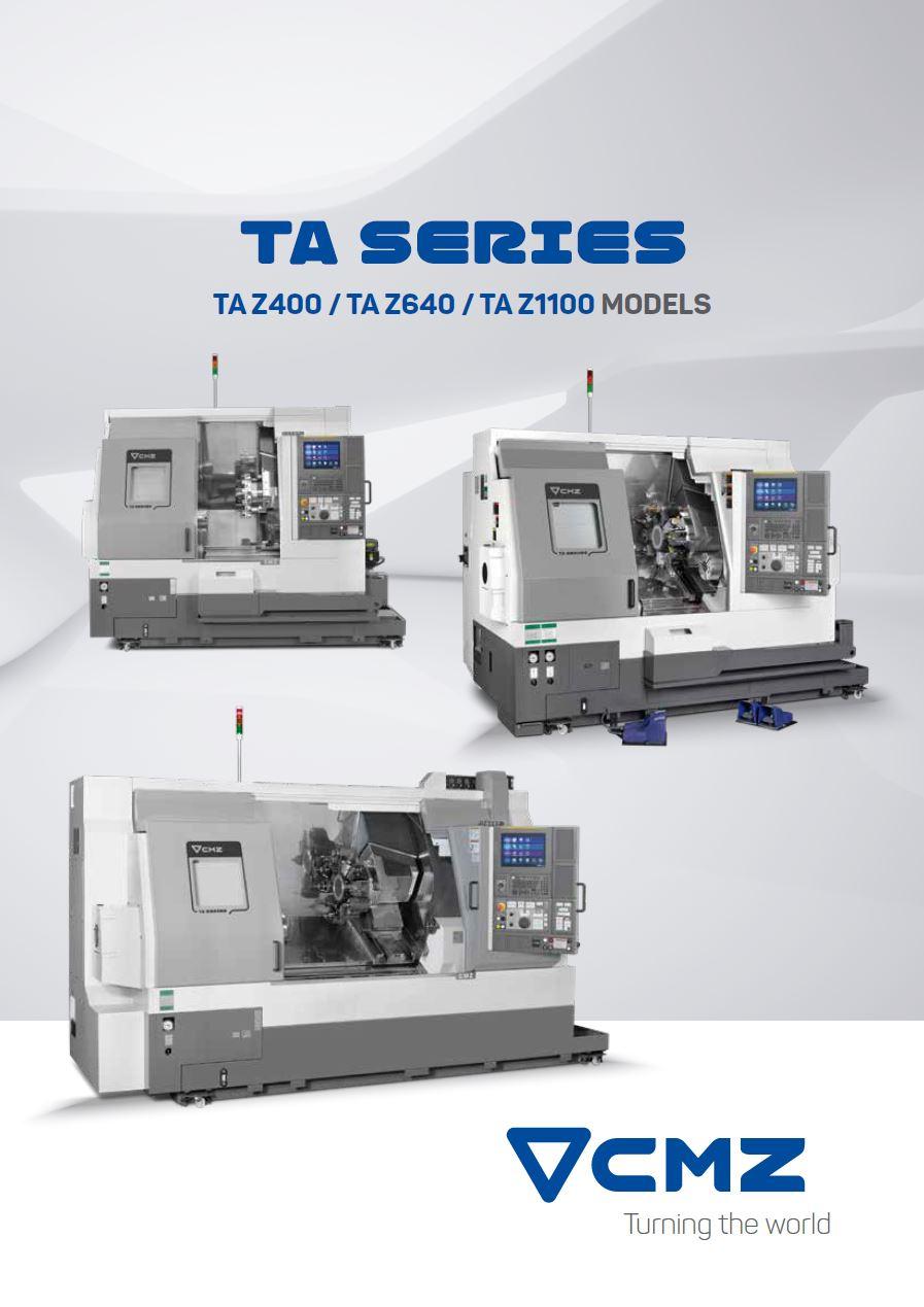 TA Series Catalogue_CNC lathe