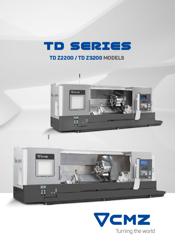 TD Z2200-TD Z3200 Series Catalogue_CNC lathes