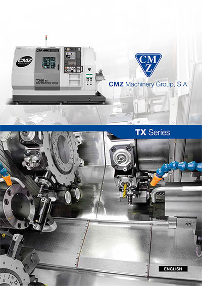 TX Series Catalogue_CNC lathes