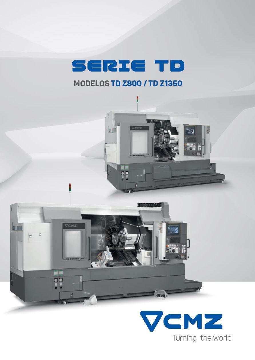 TD Z800-TD Z1350 Series Catalogue_CNC lathes