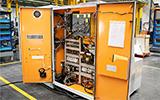 Detalle de armario eléctrico